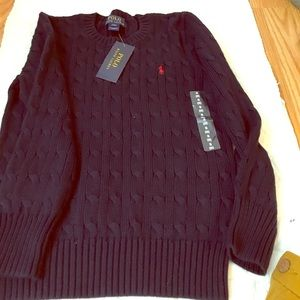 NWT navy blue boy sweater